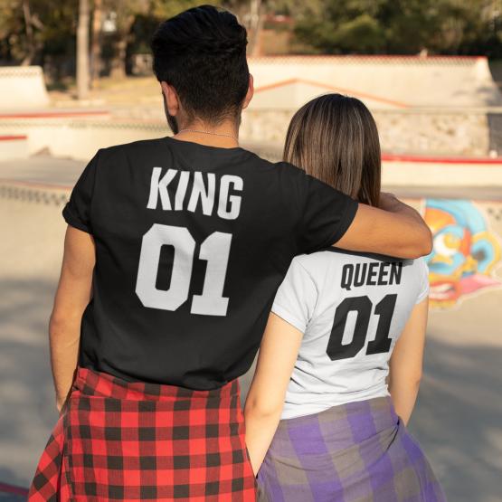 King Queen 01 t shirts