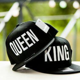 King Queen cap snapback