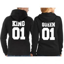 King Queen hoodie sweatshirt