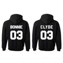 bonnie clyde hoodie