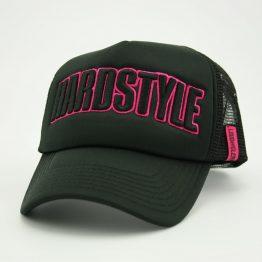 hardstyle trucker pet roze zijkant