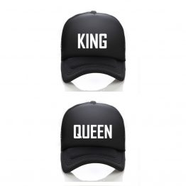 King Queen Trucker Caps
