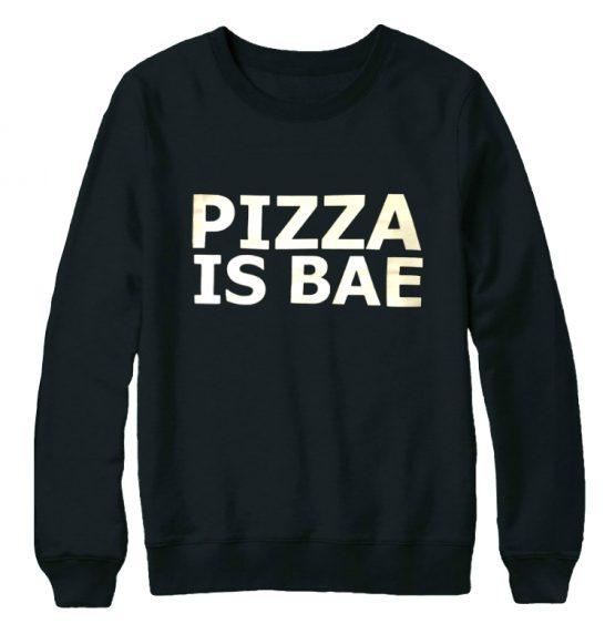 Pizza is bae trui sweater