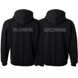 Blondie Brownie Hoodies