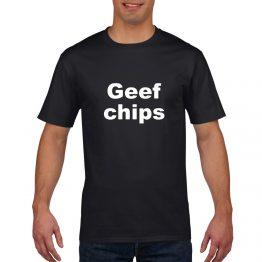 Geef chips shirt