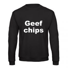 Geef chips trui sweater
