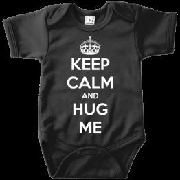 Keep Calm And Hug Me romper
