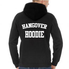 Hangover hoodie back