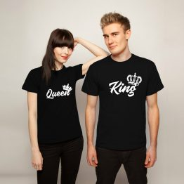 King Queen shirt Royal