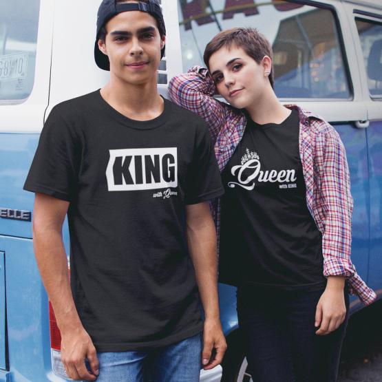 King Queen shirt groot