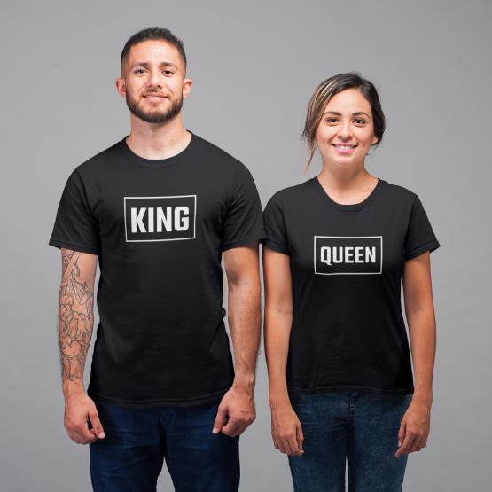 King Queen shirt rechthoek