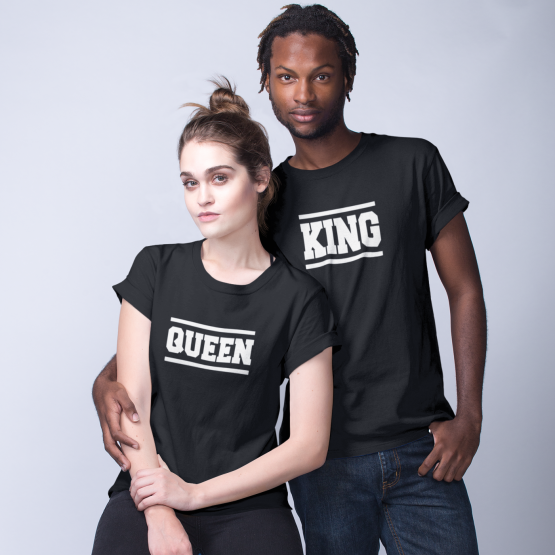 King Queen shirts Stripes