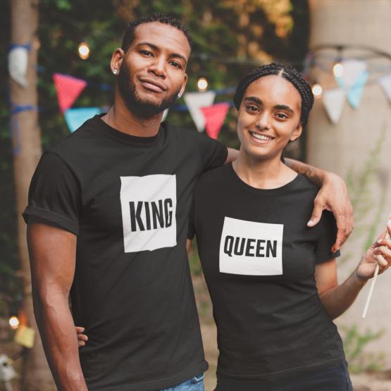 King Queen shirts blok