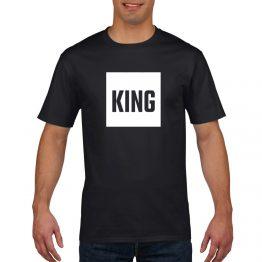 King Queen shirt blok