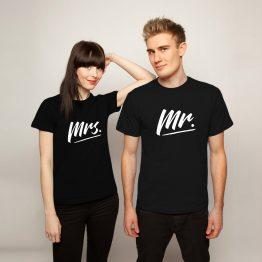 Mr Mrs shirt sfeerfoto