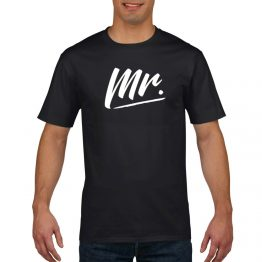Mr en Mrs shirt