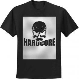 hardcore shirts skull