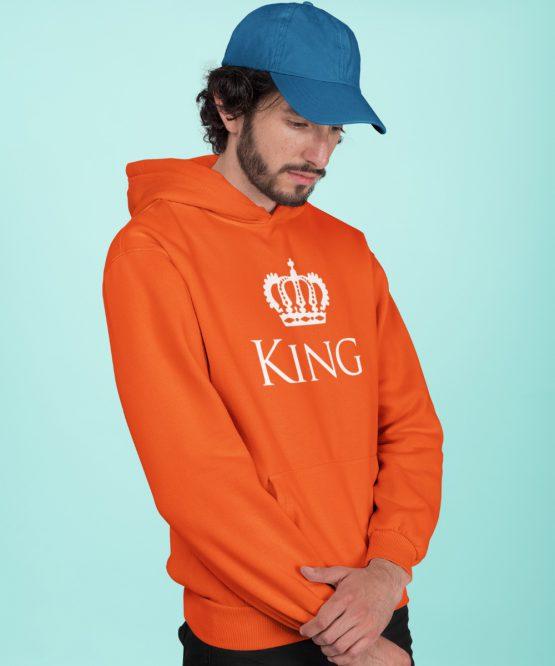 Koningsdag Hoodie King Kroon
