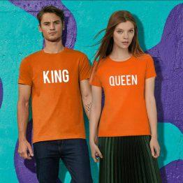 Koningsdag T Shirts King Queen