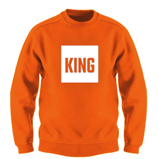 Koningsdag Trui Blok King