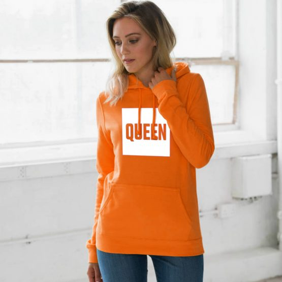 Koningsdag hoodie Blok Queen