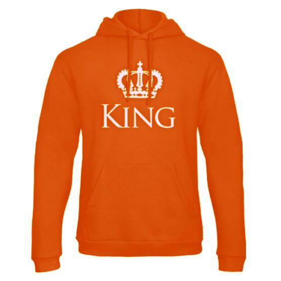 Koningsdag hoodie sweater Classic King