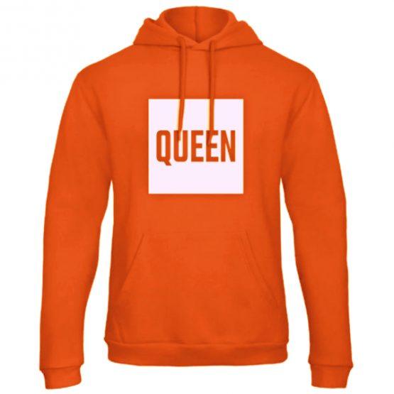 Koningsdag hoodie trui Queen