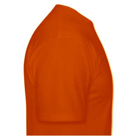 Koningsdag shirt oranje zijkant