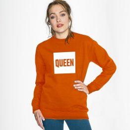Koningsdag trui Queen sfeerfoto