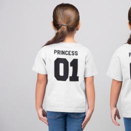 Princess 01 shirts wit