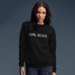 Girl boss sweater trui