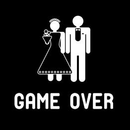 Game Over Vrijgezellenshirt