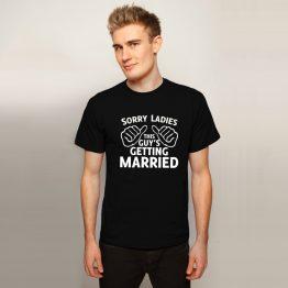 Vrijgezellenshirt Getting Married
