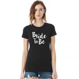 Vrijgezellenshirt vrouw Bride to be