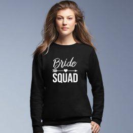 Bride Squad vrijgezellenfeest trui