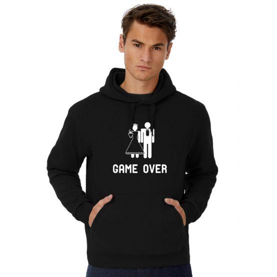 Vrijgezellen hoodie man Game over