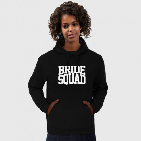 Vrijgezellenfeest hoodie Bride Squad 2