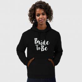 Vrijgezellenfeest hoodie Bride to be