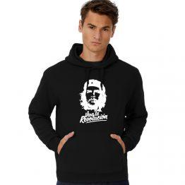 Che Guevara Hoodie Viva La Revolucion