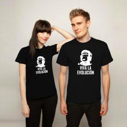 Che Guevara t shirt Evolucion