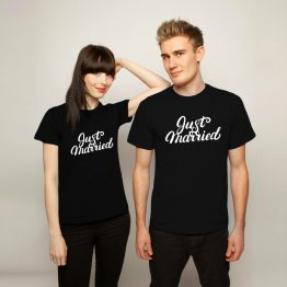 Just Married shirts 1