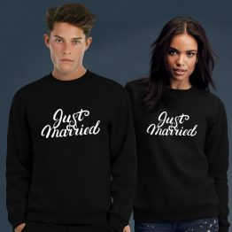 Just Married sweater trui 1