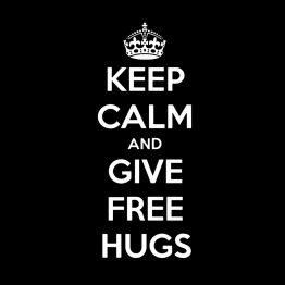 Free Hugs silhouet 5