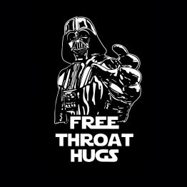 Free throat hugs silhouet