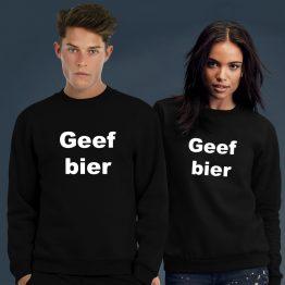 Geef Bier trui sweater