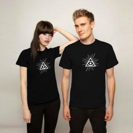 Illuminati shirt eye simpel