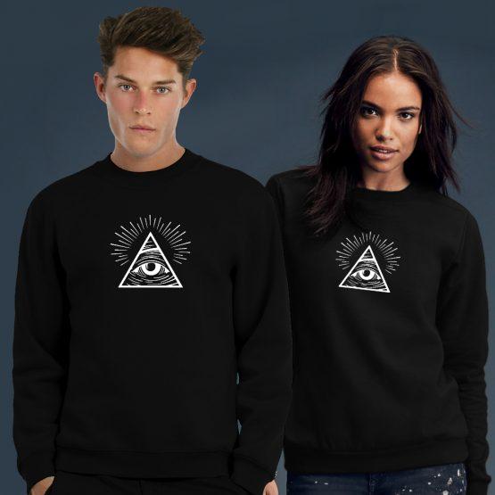 Illuminati sweater trui eye 1