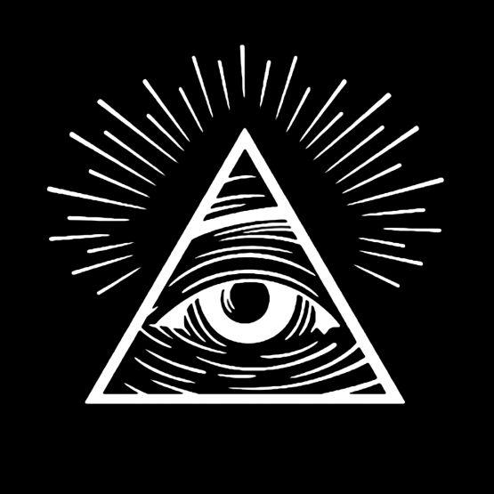 Illuminati sweater trui eye