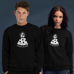 Illuminati sweater trui pizza