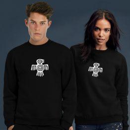 Aztec sweater trui Vogel 2